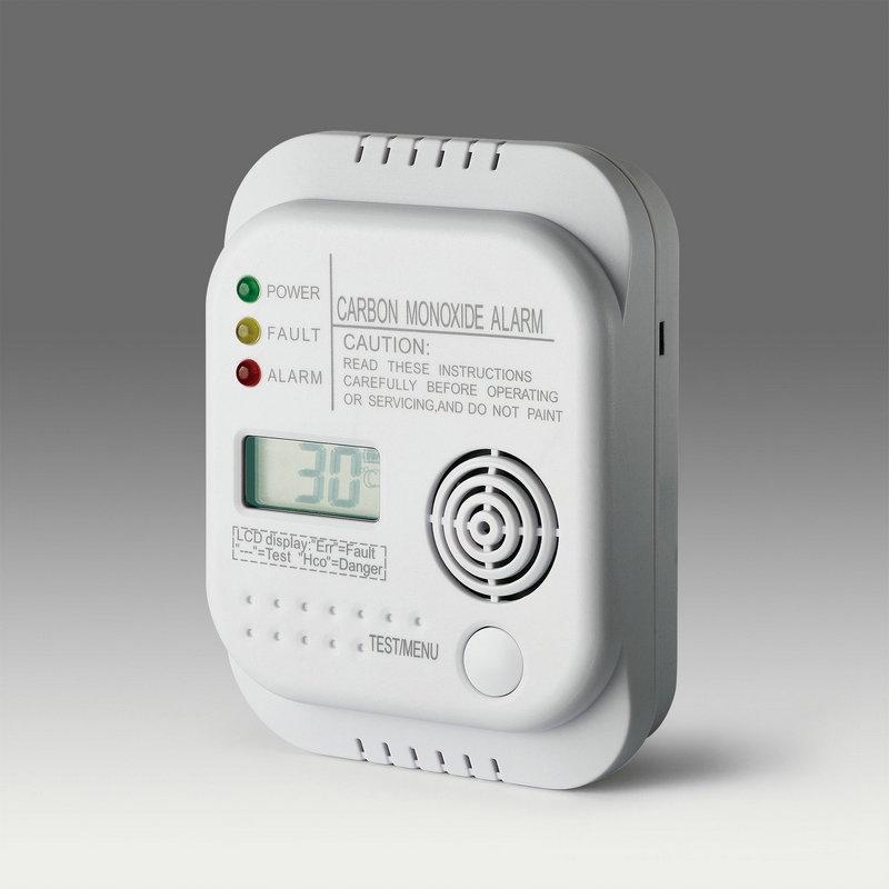 Kohlenmonoxid-Alarm mit 10-Jahre-Batterie LM-201D